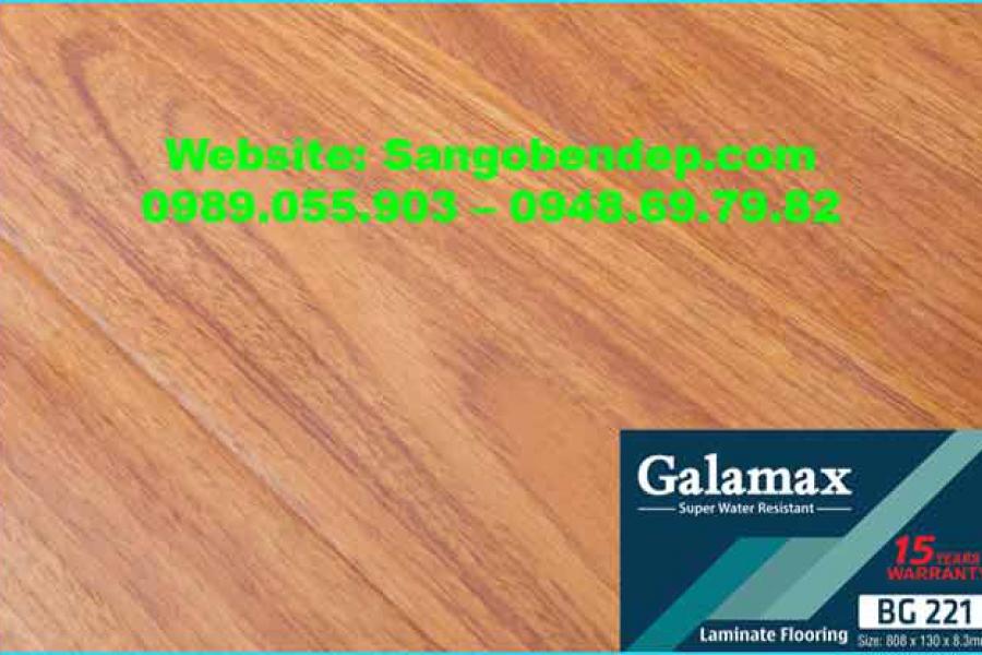 Sàn gỗ Galamax BG221 – Việt Nam