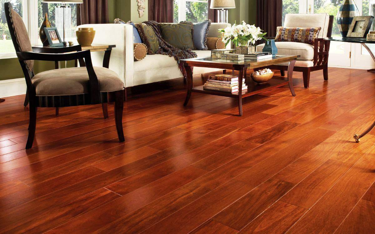 Sàn gỗ đẹp mang lại không gian sang trọng ngôi nhà bạn